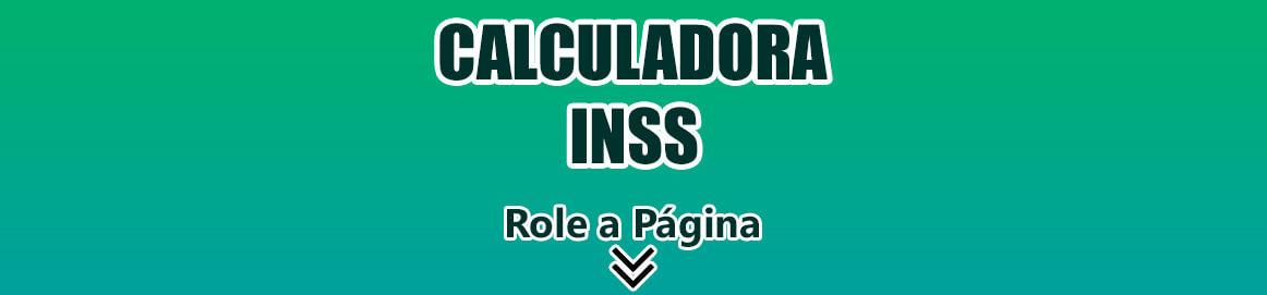 Calculadora de INSS